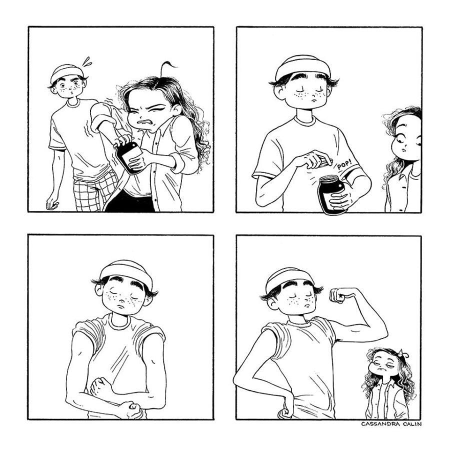 Illustrazioni divertenti donne Cassandra Calin