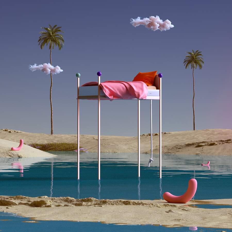 Mondi di sogni surreali nelle immagini di Yomagick