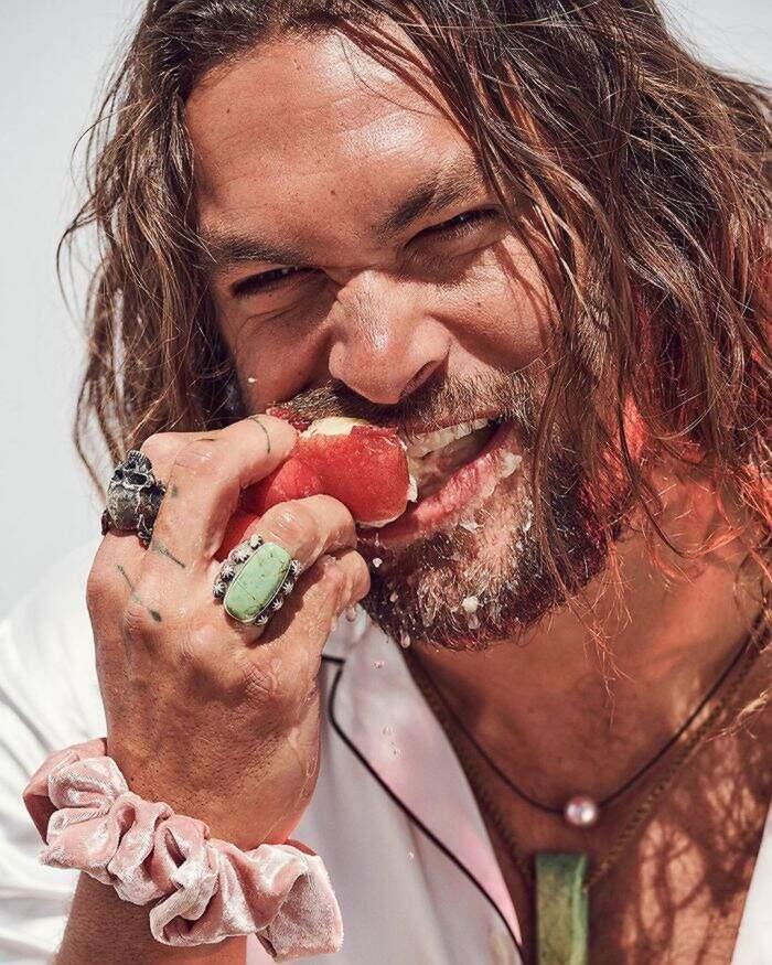 Foto Jason Momoa intervista Esquire