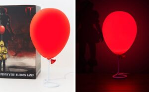 "Una lampada a forma di palloncino di ""IT"" per i fan dei film horror"