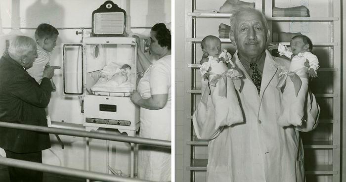 Bambini nati prematuri in mostra a pagamento: così un medico salvò 6.500 neonati