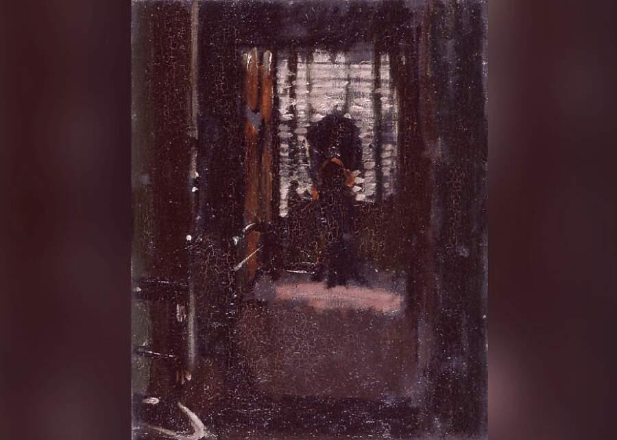 Storie interessanti dipinti famosi - Jack The Ripper's Bedroom (La camera da letto di Jack lo Squartatore), Walter Sickert