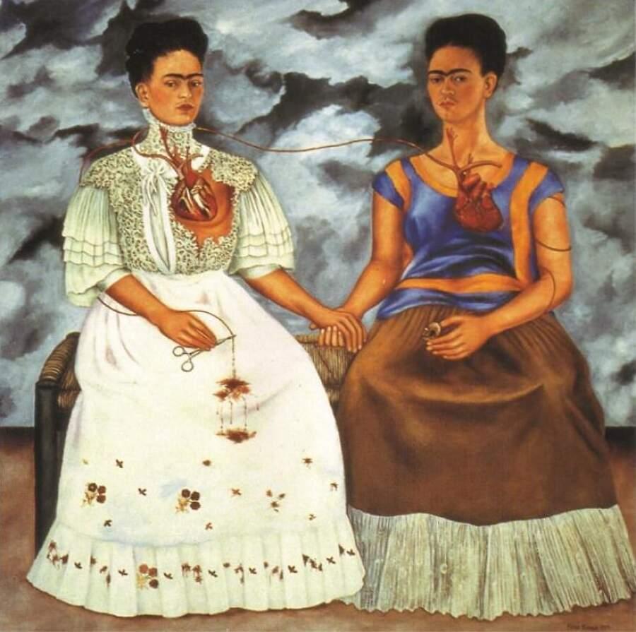 Storie interessanti dipinti famosi - Le due Frida, Frida Kahlo