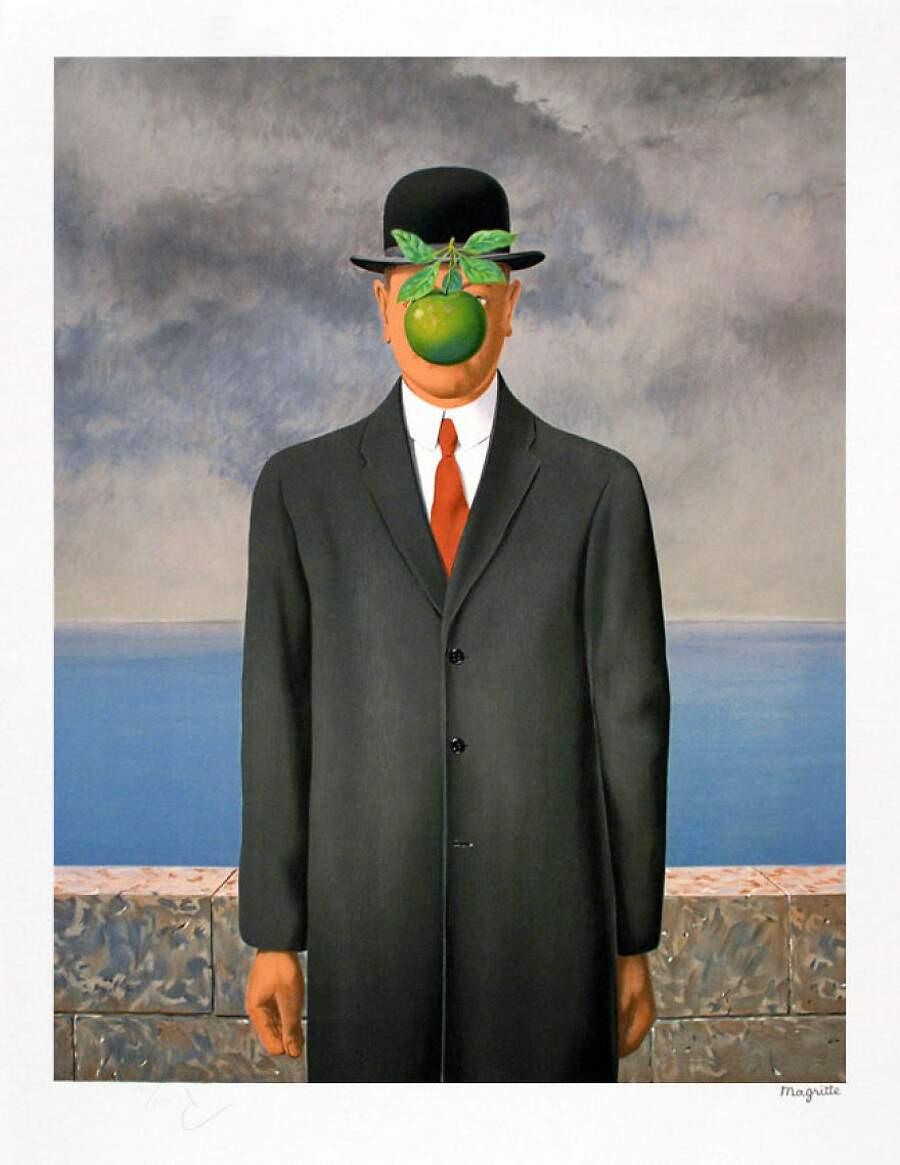 Storie interessanti dipinti famosi - Il figlio dell'uomo, René Magritte
