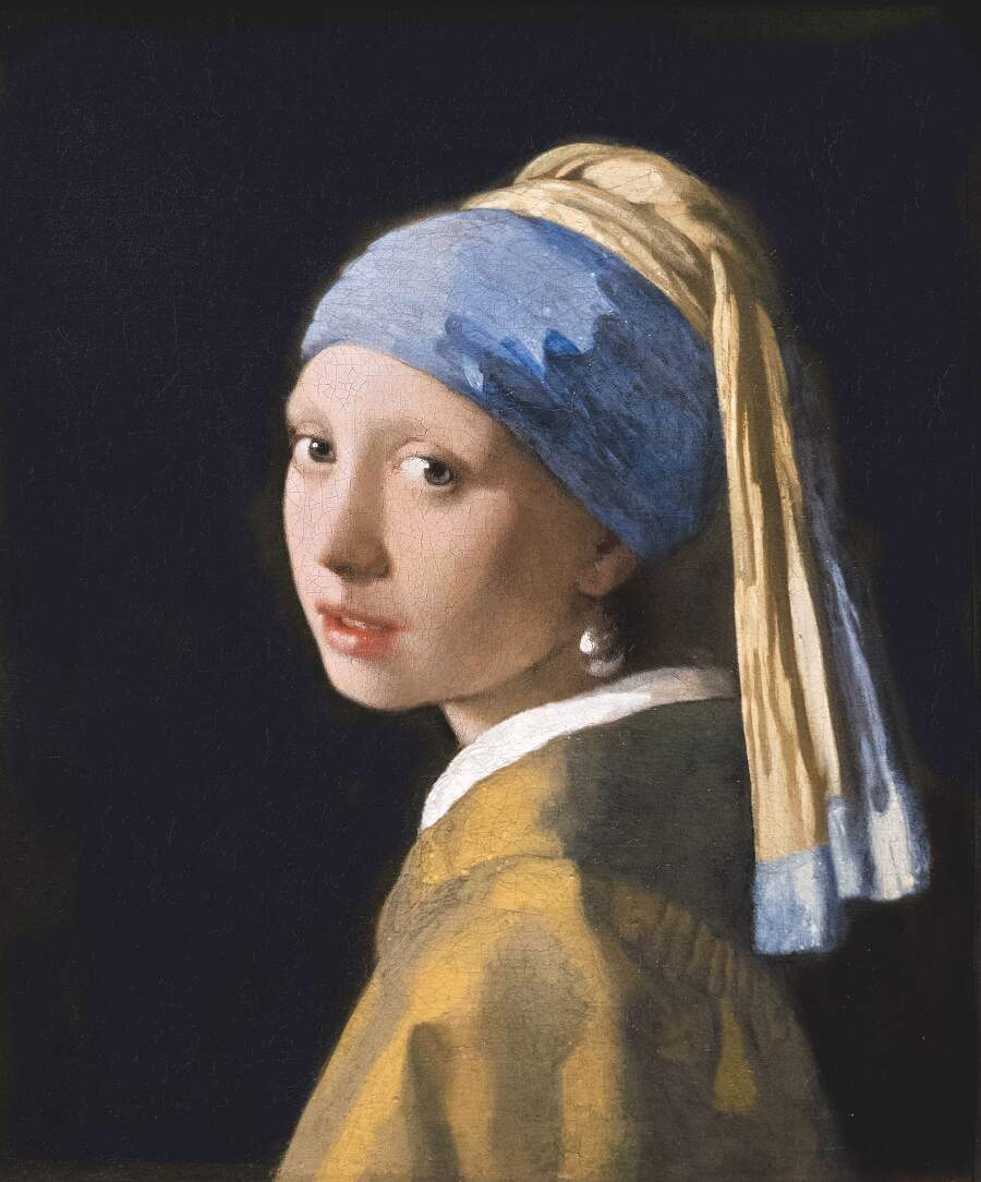 Storie interessanti dipinti famosi - La Ragazza col turbante (o Ragazza con l'orecchino di perla), Johannes Vermeer