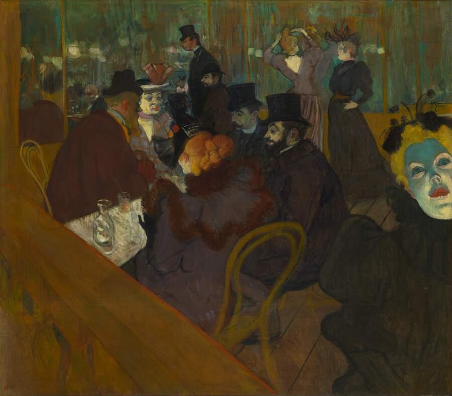 Storie interessanti dipinti famosi - Al Moulin Rouge, Henri de Toulouse-Lautrec