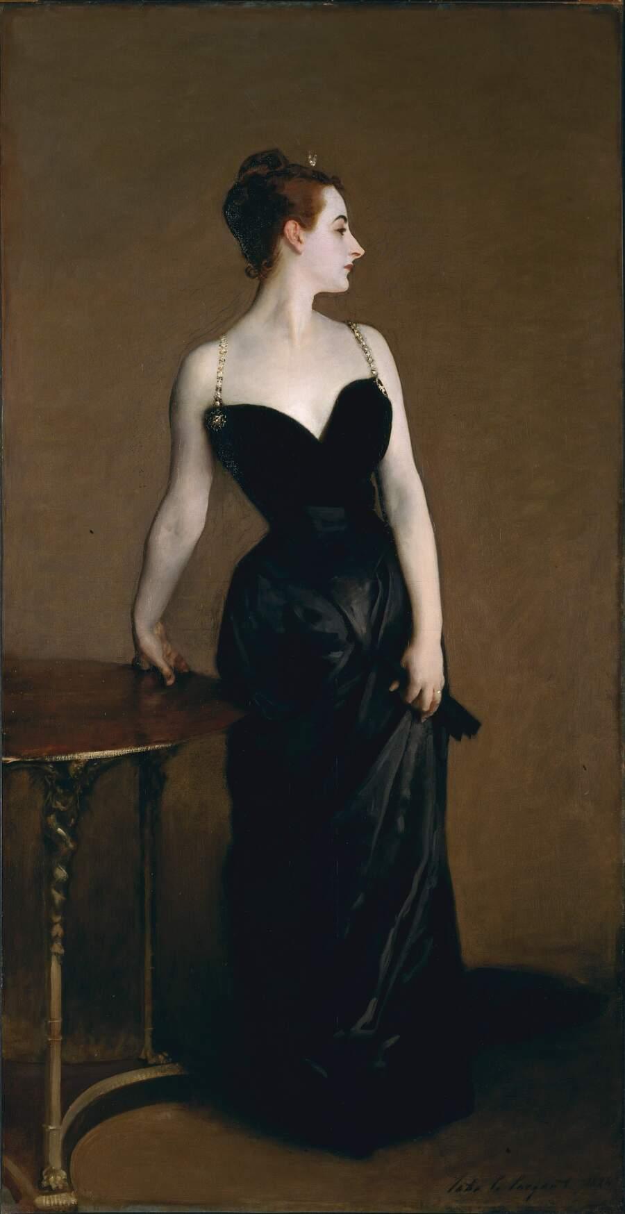 Storie interessanti dipinti famosi - Ritratto di Madame X, John Singer Sargent