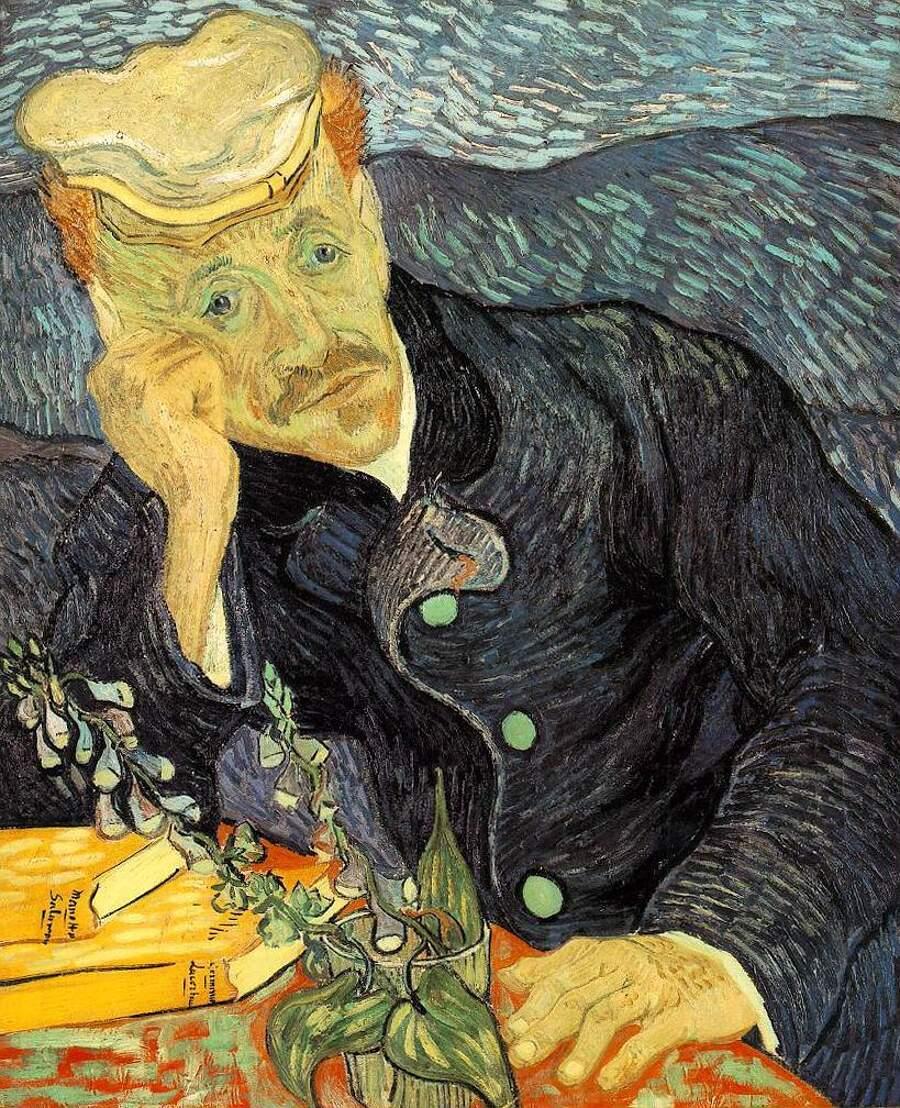 Storie interessanti dipinti famosi - Ritratto del dottor Gachet, Vincent van Gogh