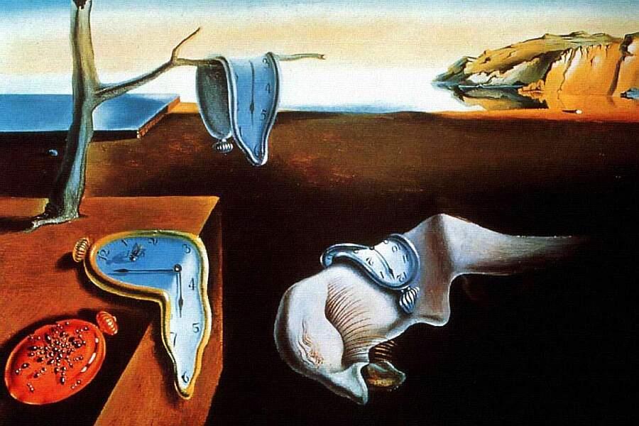 Storie interessanti dipinti famosi - La persistenza della memoria, Salvador Dalí