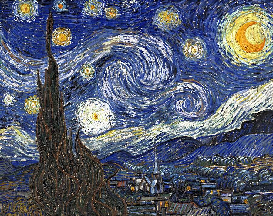 Storie interessanti dipinti famosi - Notte Stellata, Vincent van Gogh