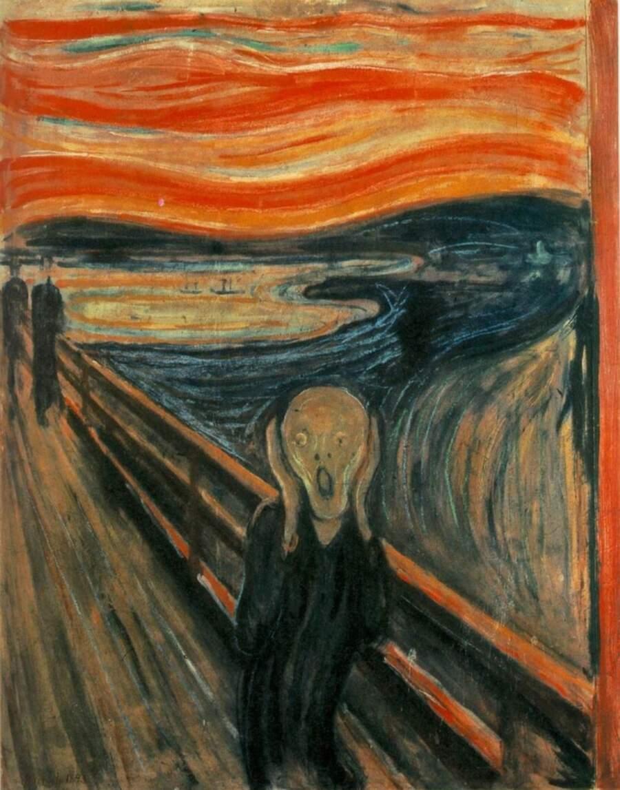 Storie interessanti dipinti famosi - L'urlo, Edvard Munch