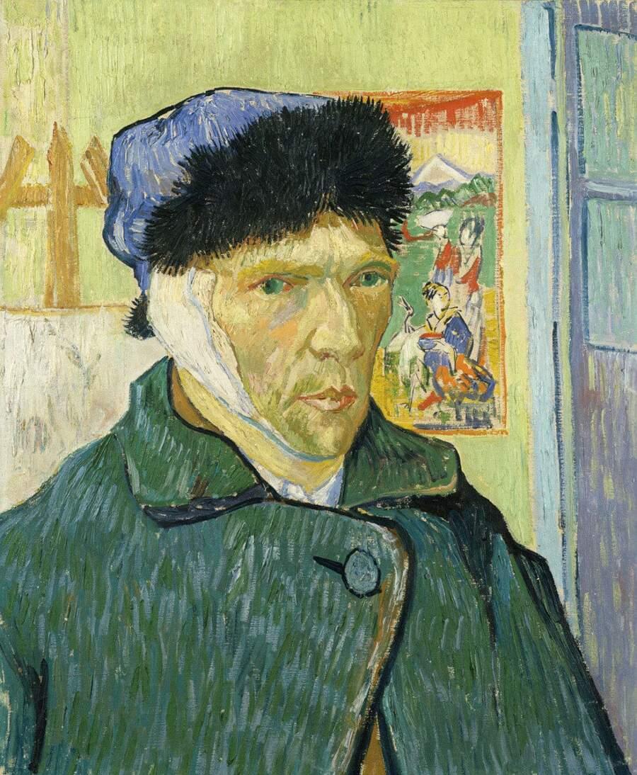 Storie interessanti dipinti famosi - Autoritratto con l'orecchio bendato, Vincent van Gogh