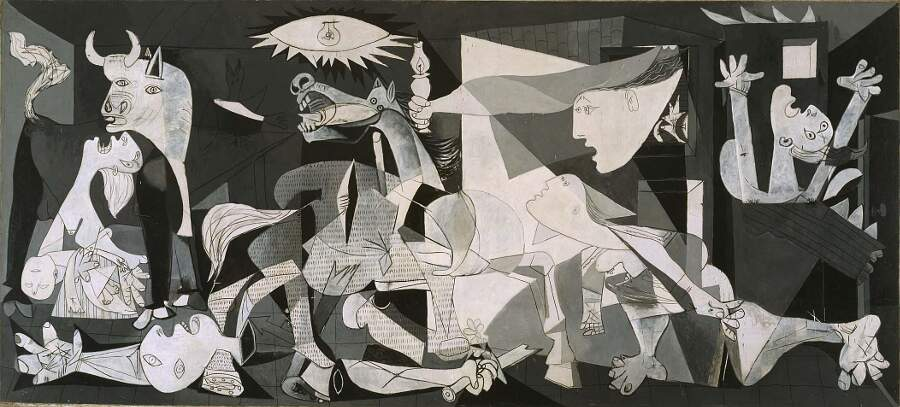 Storie interessanti dipinti famosi - Guernica, Pablo Picasso