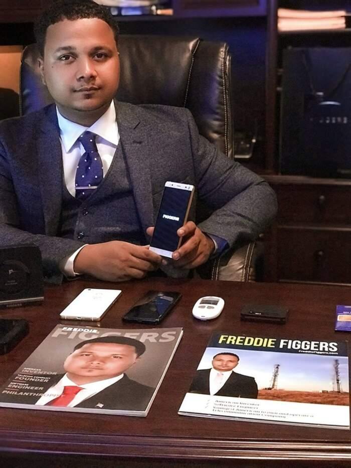 Fu abbandonato da piccolo in un cassonetto, oggi ha una società da 62 milioni, Freddie Figgers