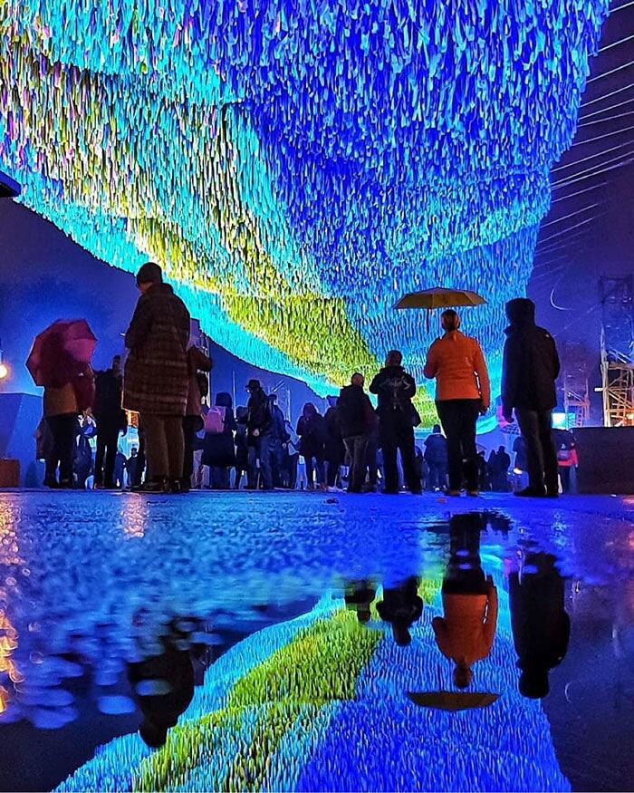 Celebrazione 30 anni caduta muro di Berlino Visions In Motions