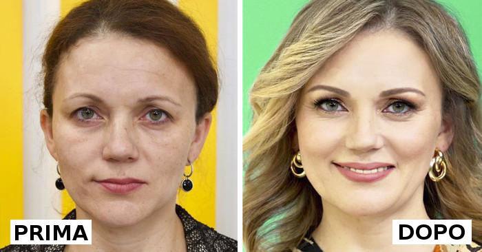 Cambia il look delle persone e le trasformazioni sono impressionanti