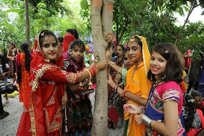 Piplantri alberi donne