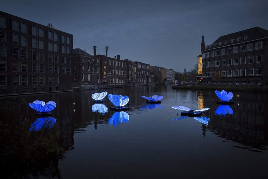 Le straordinarie sculture luminose dell'Amsterdam Light Festival 2019-2020