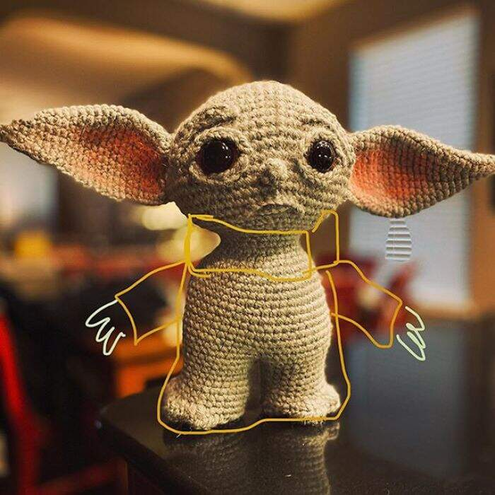 Baby Yoda uncinetto