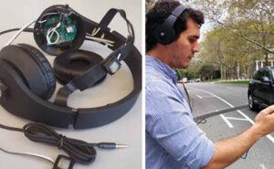 """Delle cuffie """"smart"""" che avvisano i pedoni dei pericoli imminenti"""