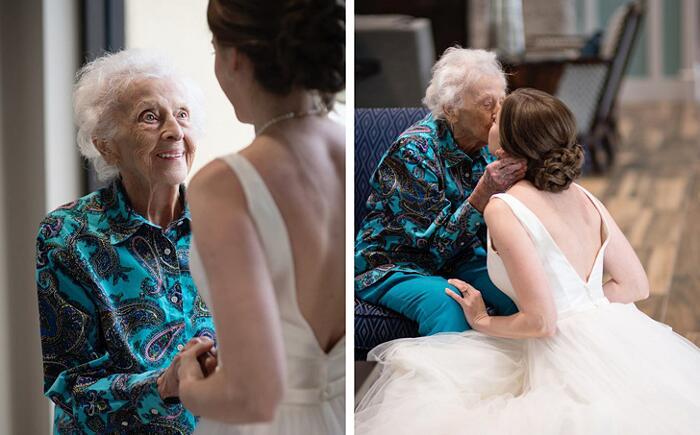 Esaudisce l'ultimo desiderio della nonna Tara Foley