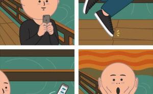 Ironia e sarcasmo nei fumetti di un artista italiano