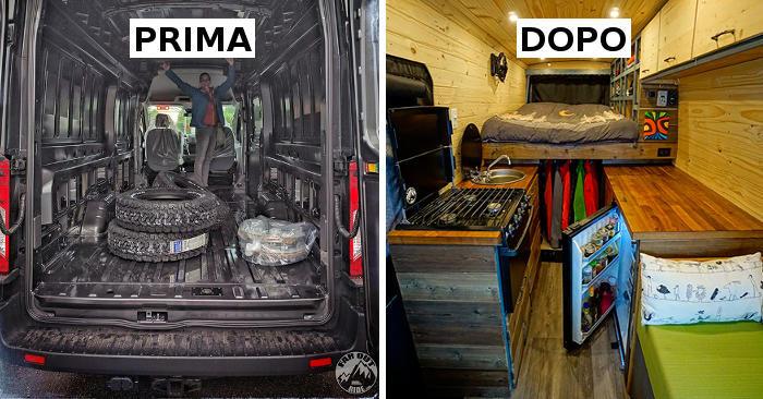Due ingegneri lasciano il lavoro, costruiscono un furgone camperizzato e partono per un viaggio epico