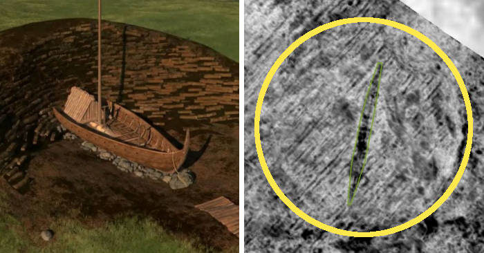 Un'antica nave vichinga sepolta sotto una fattoria in Norvegia scoperta grazie al geo-radar