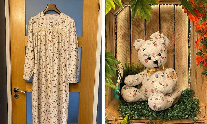 Orsacchiotti fatti con abiti di defunti Mary MacInnes