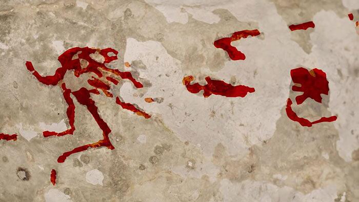 Pittura rupestre Sulawesi Indonesia Griffith University