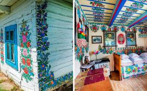 L'antica tradizione delle case dipinte in Polonia vive ancora oggi
