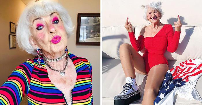 Vi presentiamo Baddie Winkle, la 92enne più cool e simpatica di Instagram