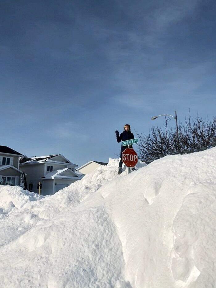 Bufere di neve in Canada