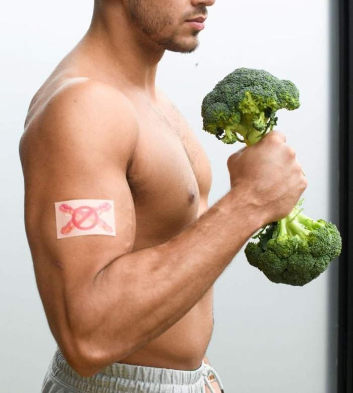 Un nuovo cerotto al bacon per aiutare le persone a diventare vegetariane