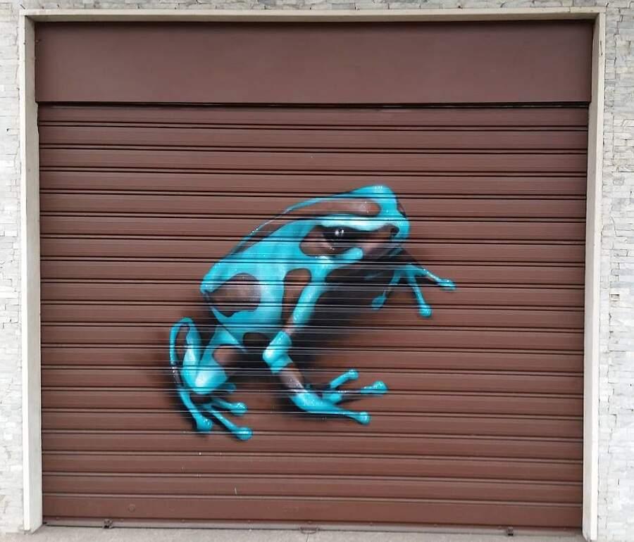 Cheone, Caiffa Cosimo, street art