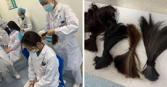 Coronavirus: ecco come si prepara il personale medico a Wuhan per non contrarre il virus (30 immagini)