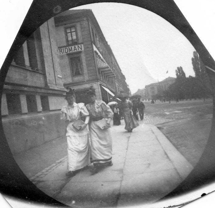 Foto 1890 macchina fotografica nascosta Carl Størmer