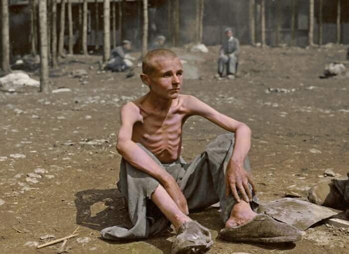 Foto Olocausto a colori
