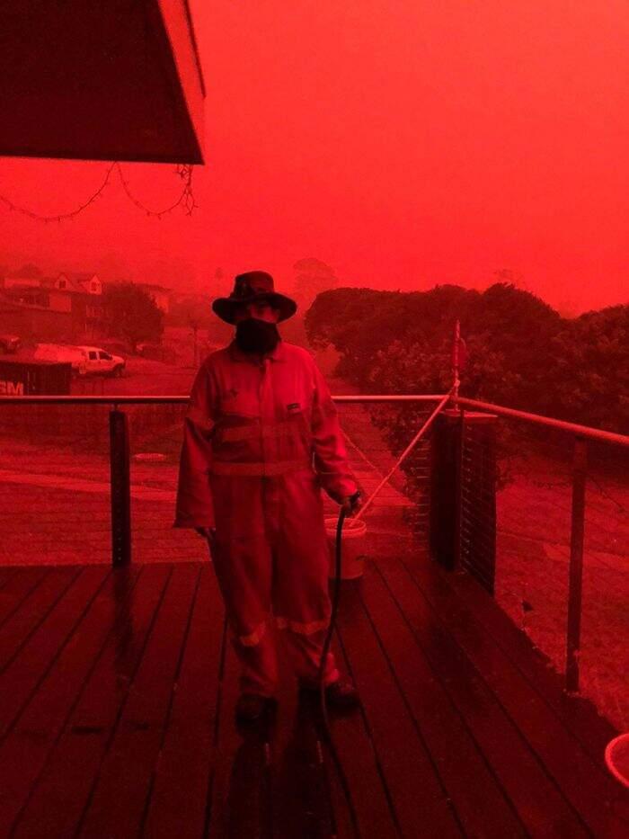 Foto incendi Australia