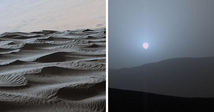 7 anni su Marte: le foto più belle scattate dal rover Curiosity