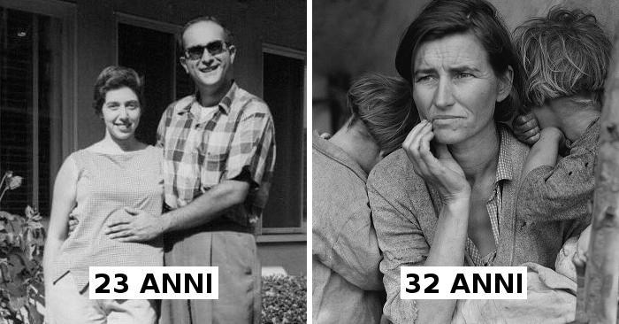 Vecchie foto dimostrano che le persone nel passato invecchiavano più velocemente