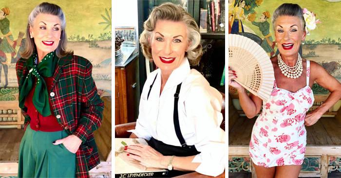 A 62 anni modella su Instagram si sente più sicura di sé oggi che a 20 anni