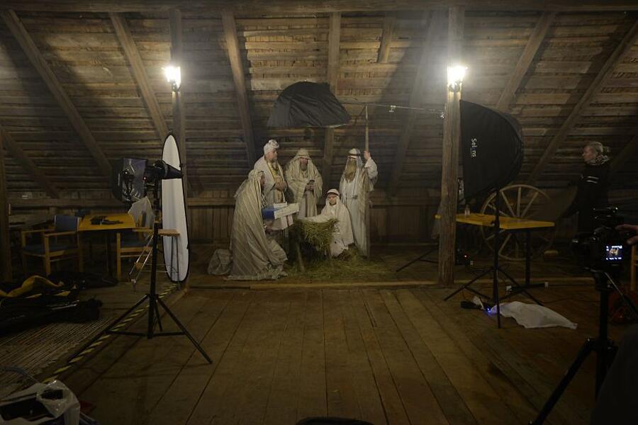 Serie fotografica Modern Religion Juhamatti Vahdersalo