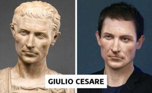 Giulio Cesare, Nefertiti e altri personaggi della storia in versione contemporanea (30 immagini)