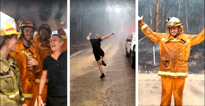 Arriva la pioggia in Australia, finalmente la bomba d'acqua contro gli incendi