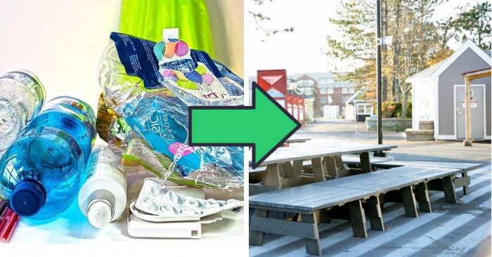 Azienda raccoglie i rifiuti di plastica e la trasforma in