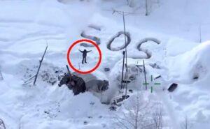 Uomo sopravvive 23 giorni al freddo polare in Alaska dopo che il suo rifugio si è incendiato