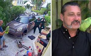 """4 poliziotti si presentano a casa di un uomo perché il suo pappagallo grida """"Fammi uscire"""" e sembra una donna"""