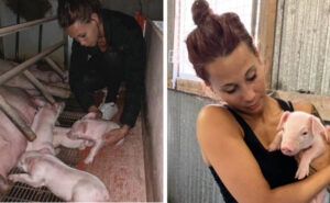Animalista arrestata 22 volte per i suoi raid negli allevamenti intensivi non smetterà di salvare animali