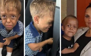 Mamma mostra il video del figlio di 9 anni affetto da nanismo dopo che è stato bullizzato